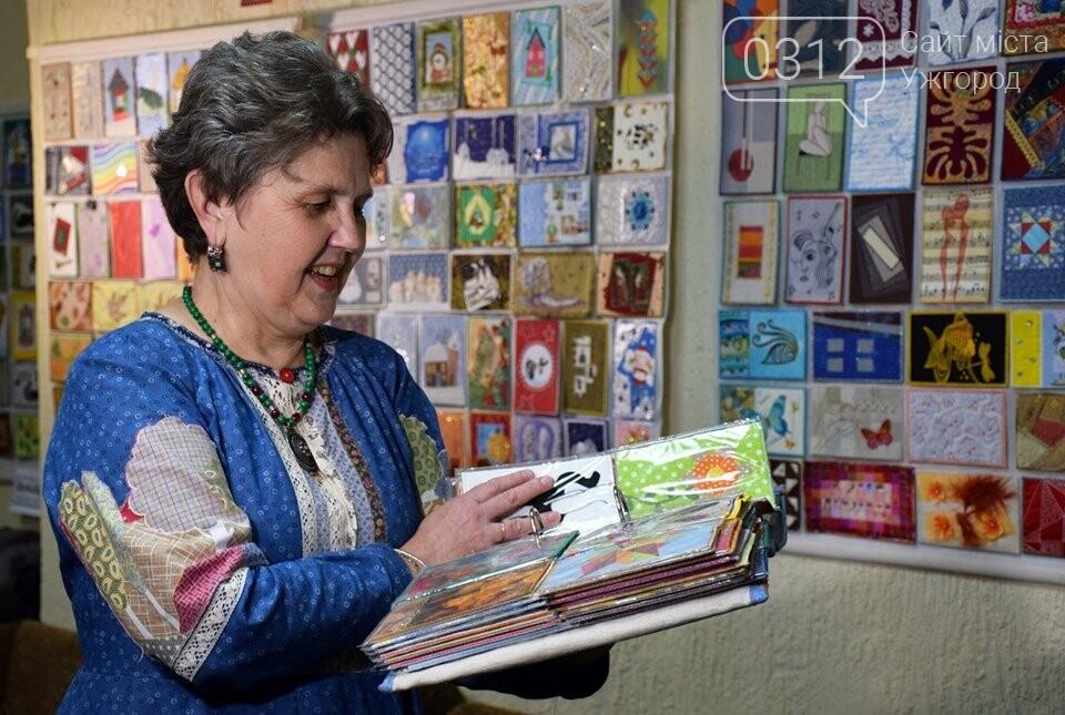 Листівки із сотень клаптиків – в Ужгороді презентували унікальну колекцію у техніці печворк (ФОТО), фото-1