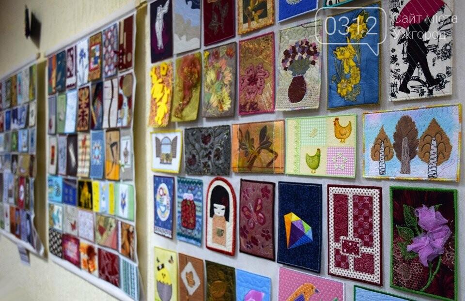 Листівки із сотень клаптиків – в Ужгороді презентували унікальну колекцію у техніці печворк (ФОТО), фото-4