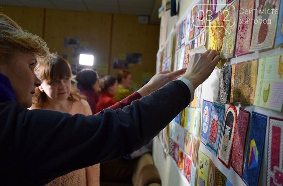 Листівки із сотень клаптиків – в Ужгороді презентували унікальну колекцію у техніці печворк (ФОТО), фото-9