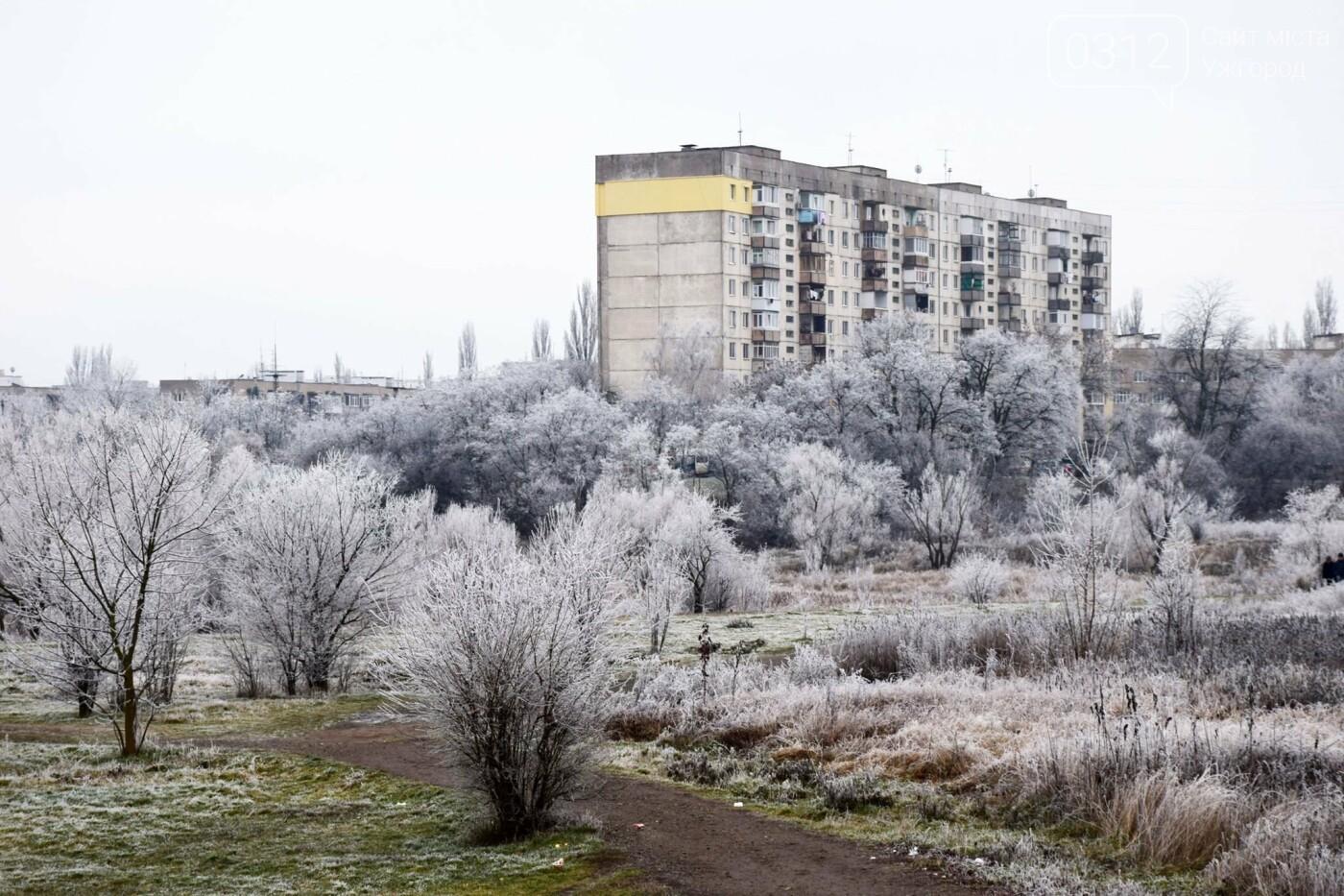 Ужгородський парк «Кірпічка»: засніжений і без снігу, фото-1