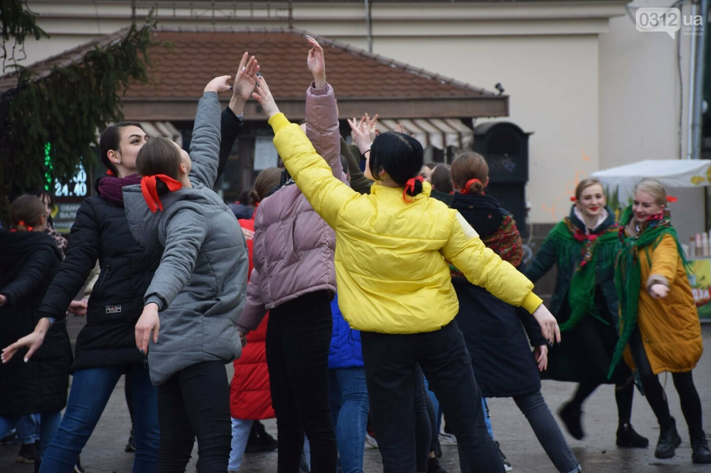 Як Ужгород відзначив День Соборності України (ФОТОРЕПОРТАЖ) , фото-13