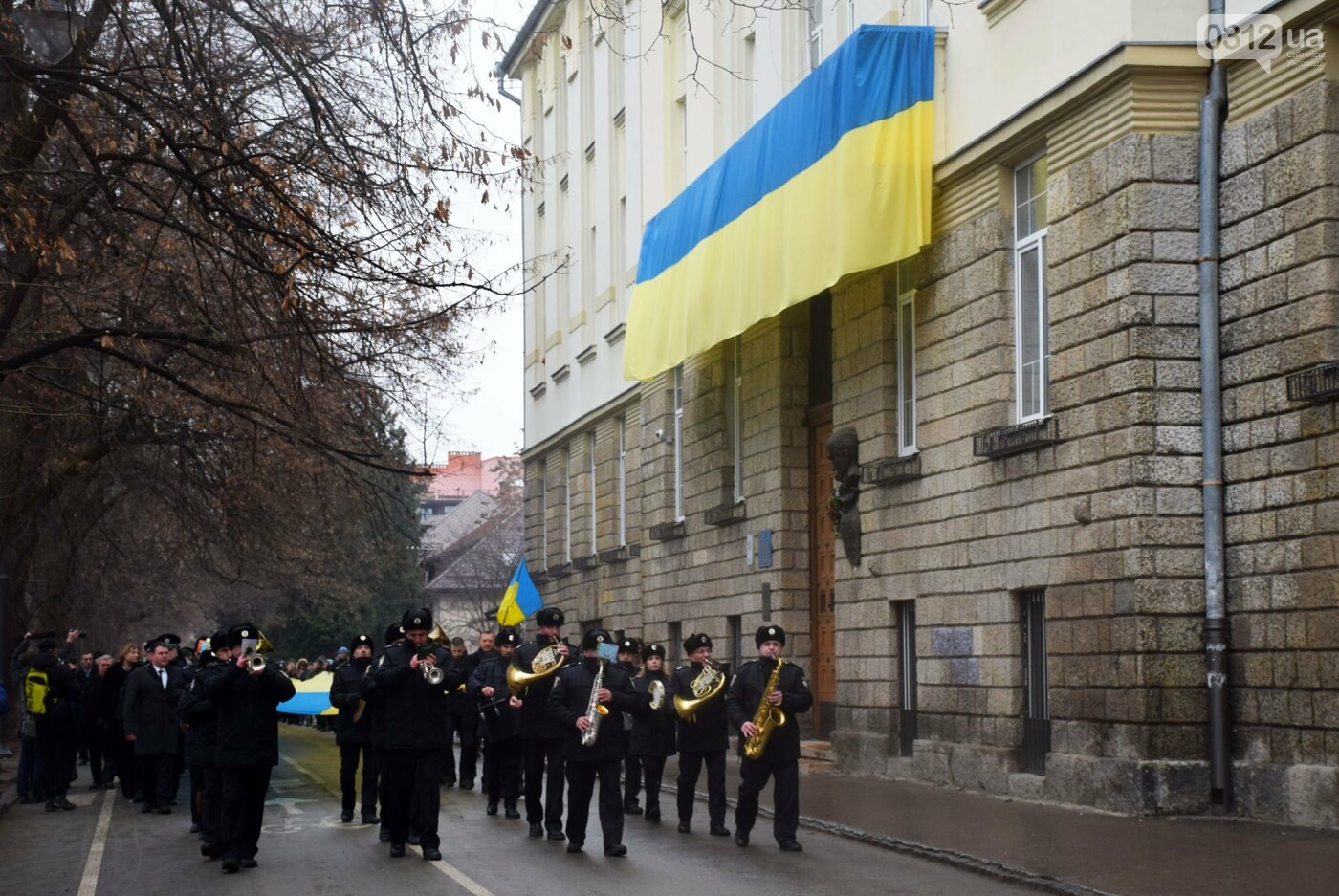 Як Ужгород відзначив День Соборності України (ФОТОРЕПОРТАЖ) , фото-4