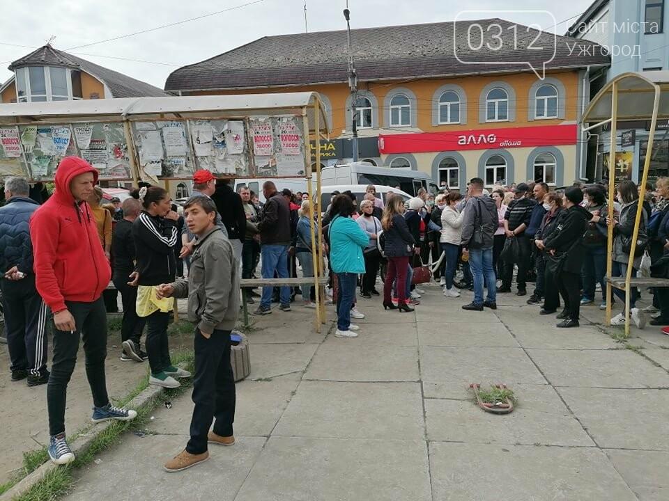 Протест у Виноградові: підприємці вимагають відмінити роботи на зруйнованій будівлі кінотеатру (ФОТО), фото-2