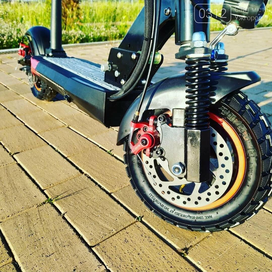 Електросамокат Kugoo M4 Pro 2020 - позашляховик для їзди містом, фото-4