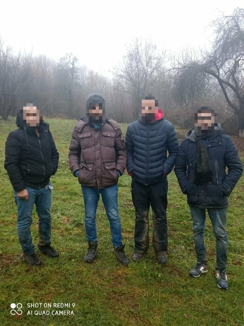 Закарпатські прикордонники затримали групу нелегалів, фото-1