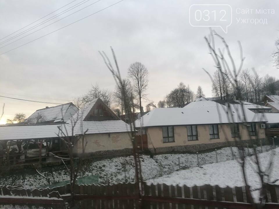 Західну частину Закарпаття замело снігом (ФОТОРЕПОРТАЖ), фото-4