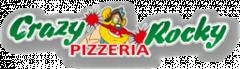 Логотип - Crazy Rocky, Піцерія ● Доставка їжі