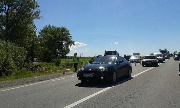 """На трасі """"Київ-Чоп"""" недалеко від Ужгорода сталась ДТП: фото, фото-2"""