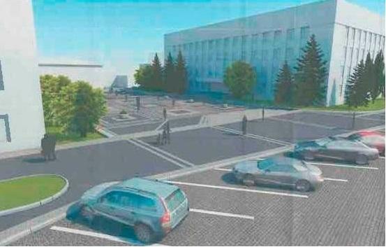 Як виглядатимуть нові тротуари Поштової площі за 1,5 мільйони гривень: проект, фото-1