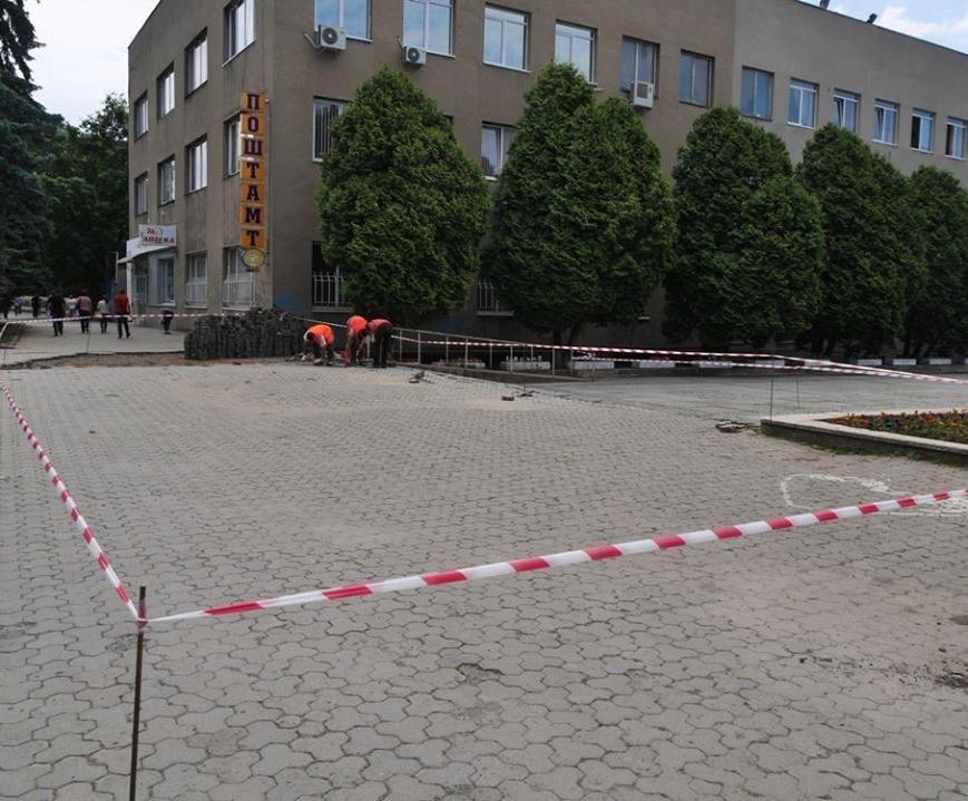 Як виглядатимуть нові тротуари Поштової площі за 1,5 мільйони гривень: проект, фото-4