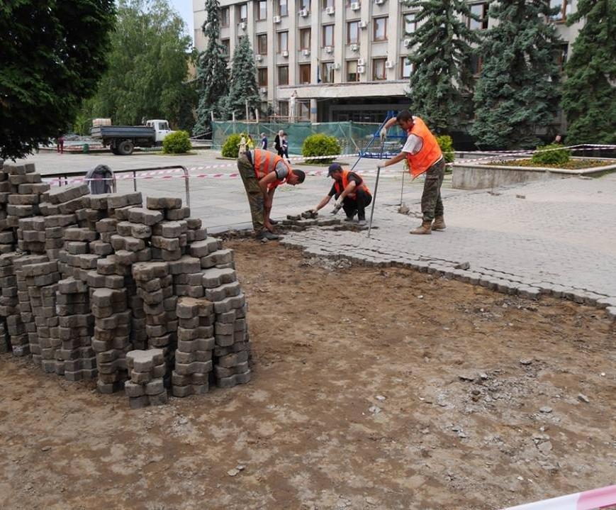 Як виглядатимуть нові тротуари Поштової площі за 1,5 мільйони гривень: проект, фото-3