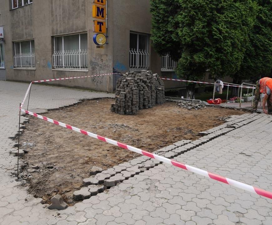 Як виглядатимуть нові тротуари Поштової площі за 1,5 мільйони гривень: проект, фото-5