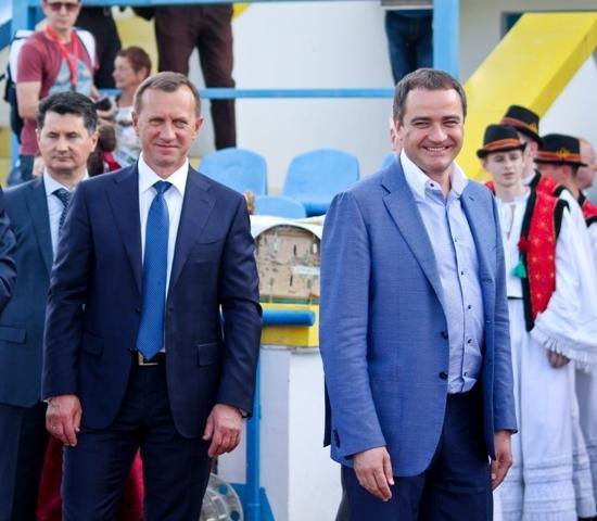 Найяскравіші моменти матчу збірних ветеранів України та Угорщини в Ужгороді: фоторепортаж, фото-23