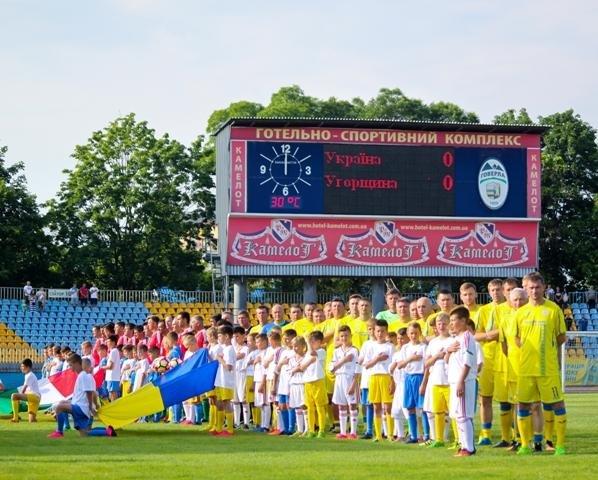 Найяскравіші моменти матчу збірних ветеранів України та Угорщини в Ужгороді: фоторепортаж, фото-4