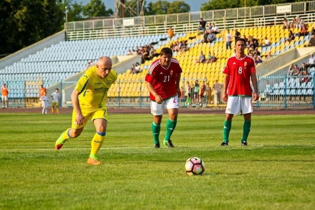 Найяскравіші моменти матчу збірних ветеранів України та Угорщини в Ужгороді: фоторепортаж, фото-12