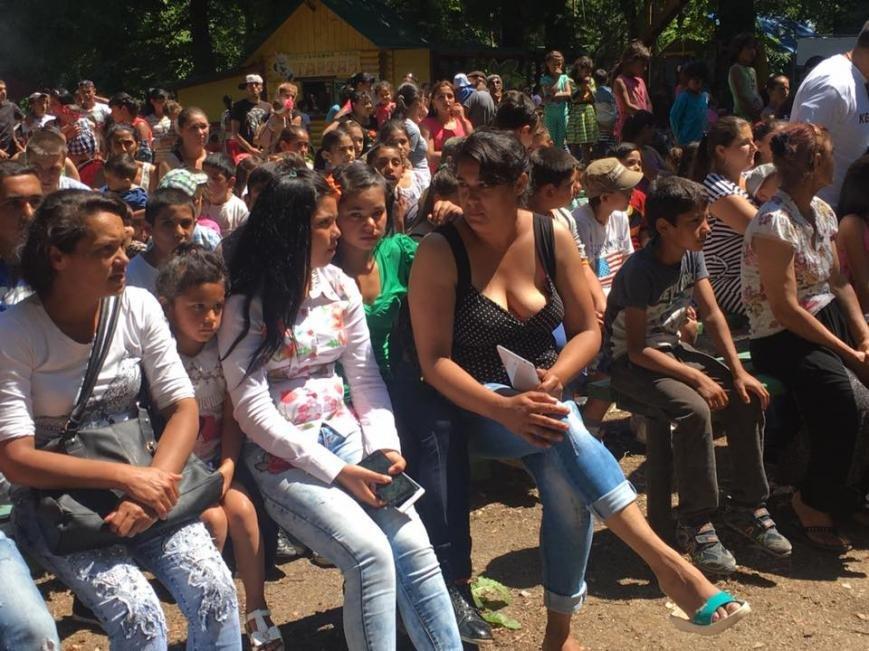 """Як 400 маленьких ромів розважалися у парку """"Підзамковому"""": фото, фото-4"""