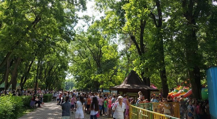 """Як ужгородська малеча на безкоштовних атракціонах у Боздоському парку """"каталася"""", фото-4"""