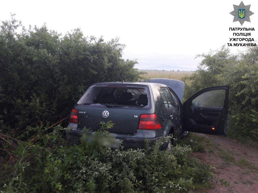 """Ужгородські патрульні показали фото гонитви з пострілами за п'яним водієм """"Фольксвагена"""", фото-5"""