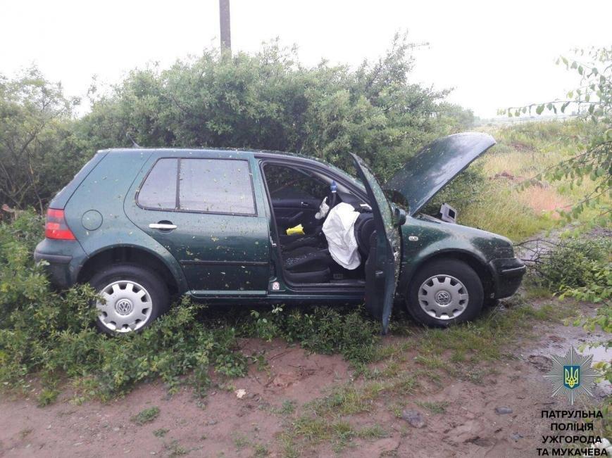 """Ужгородські патрульні показали фото гонитви з пострілами за п'яним водієм """"Фольксвагена"""", фото-9"""