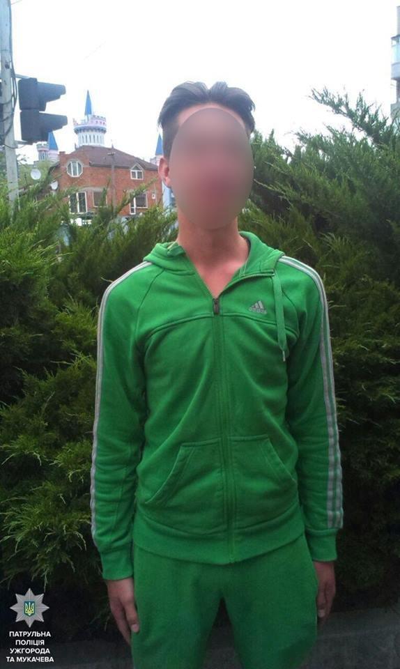 В Ужгороді на Собранецькій патрульні затримали молодиків із револьвером та кастетом: фото, фото-7