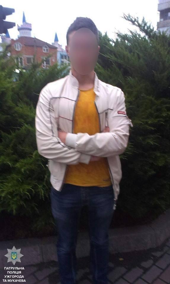 В Ужгороді на Собранецькій патрульні затримали молодиків із револьвером та кастетом: фото, фото-6
