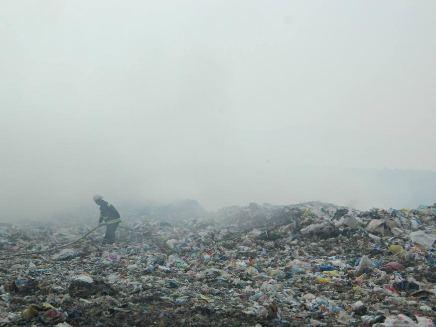 На Іршавщині - масштабна пожежа на сміттєзвалищі: фото, фото-3