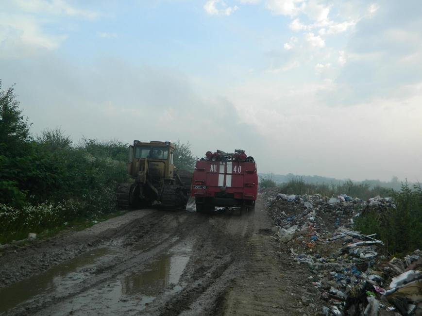 На Іршавщині - масштабна пожежа на сміттєзвалищі: фото, фото-5