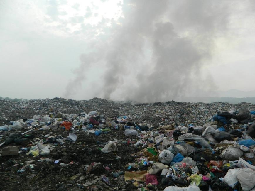 На Іршавщині - масштабна пожежа на сміттєзвалищі: фото, фото-6