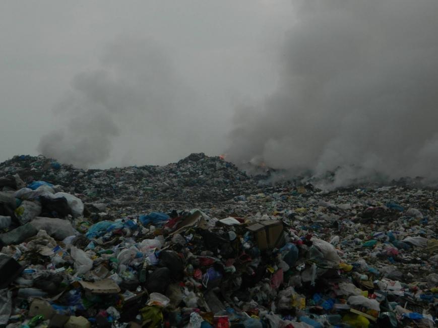 На Іршавщині - масштабна пожежа на сміттєзвалищі: фото, фото-4