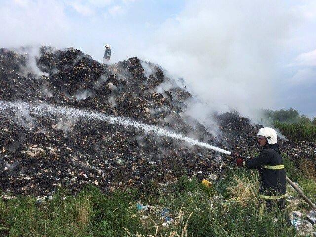 Рятувальники повідомили деталі масштабної пожежі на сміттєзвалищі на Іршавщині: фото, фото-4