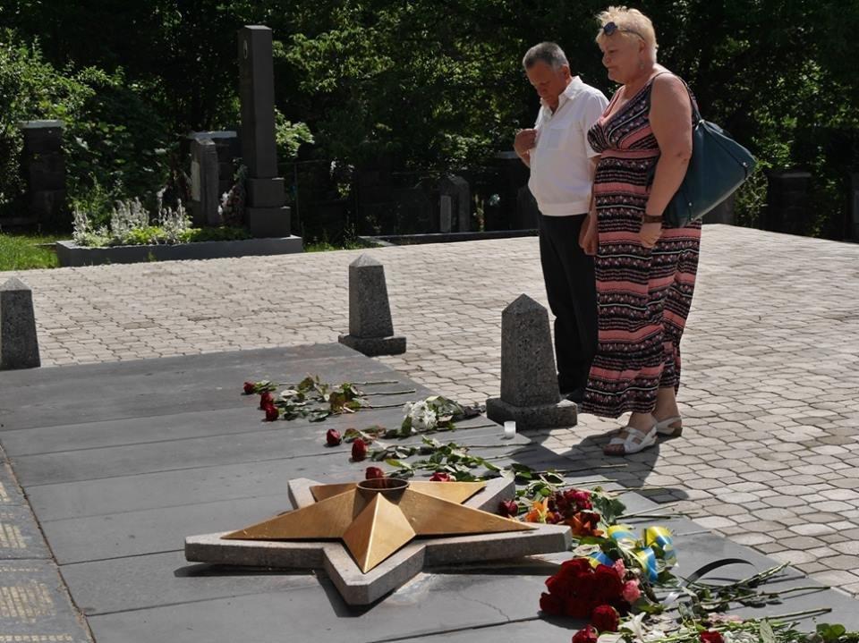 Ужгород згадав початок війни 1941-1945 років: фото, фото-3