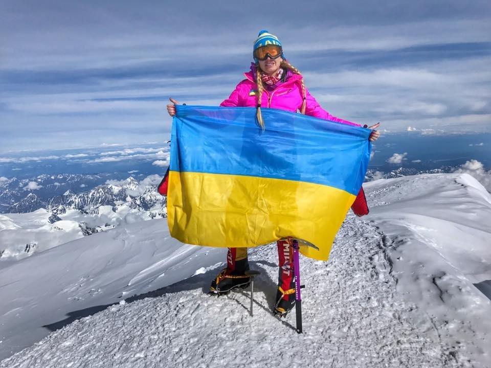 Закарпатка Ірина Галай підкорила найвищу гору Північної Америки: фото, фото-1