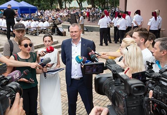 Закарпатський оркестр Нацполіції долучився до рекорду України з виконання гімну Євросоюзу: відео, фото-6