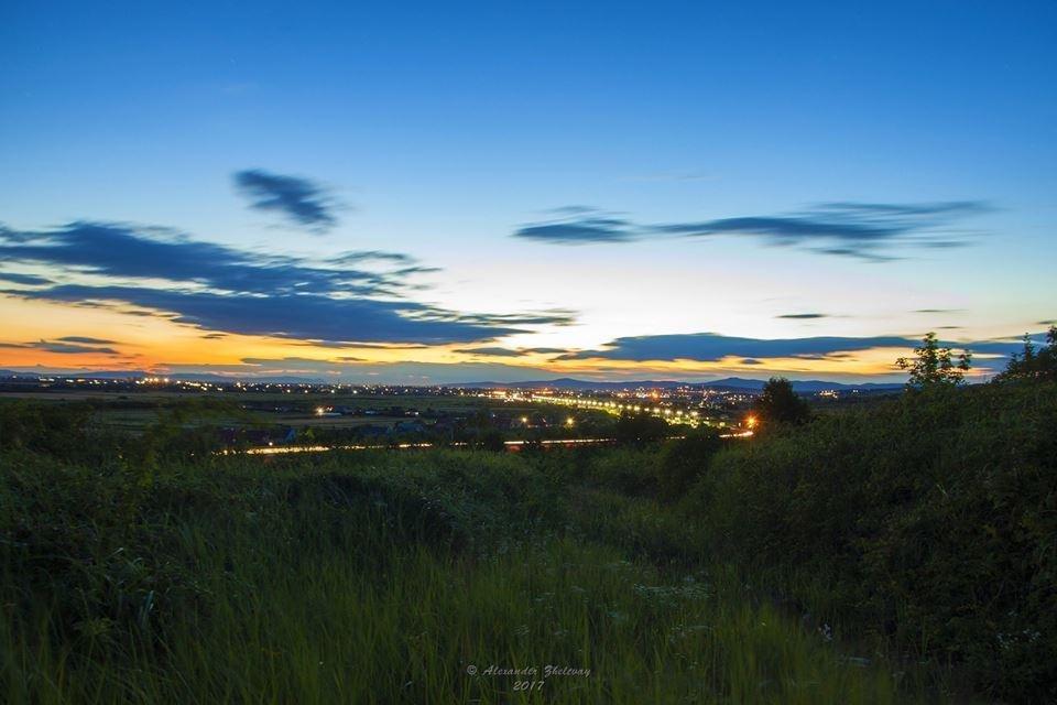 Ужгород, як на долоні: неймовірні фото вечірнього міста, фото-2