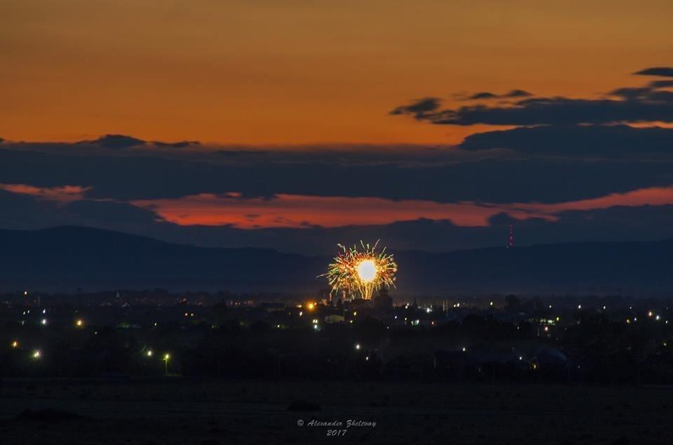 Ужгород, як на долоні: неймовірні фото вечірнього міста, фото-3