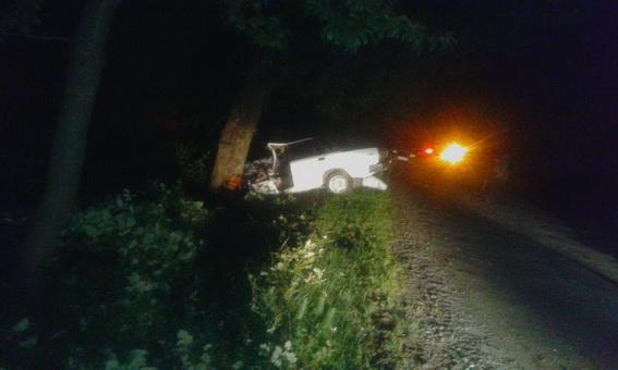 """Біля Мукачева """"ВАЗ"""" врізався в дерево - 1 людина загинула, ще двоє у реанімації: фото, фото-3"""