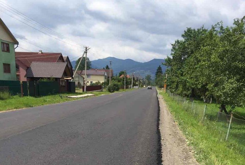 """Трасу """"Мукачево – Рогатин"""" на Рахівщині ремонтують за останніми технологіями: фото, фото-1"""