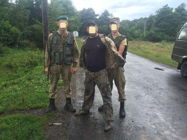 На Закарпатті прикордонники змушені були стріляти через п'яного дебошира із ножем: фото, фото-1