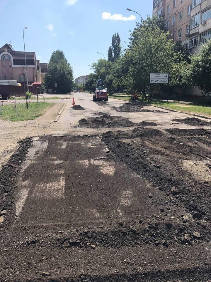 В Ужгороді розпочали капремонт Капушанської: фото, фото-4