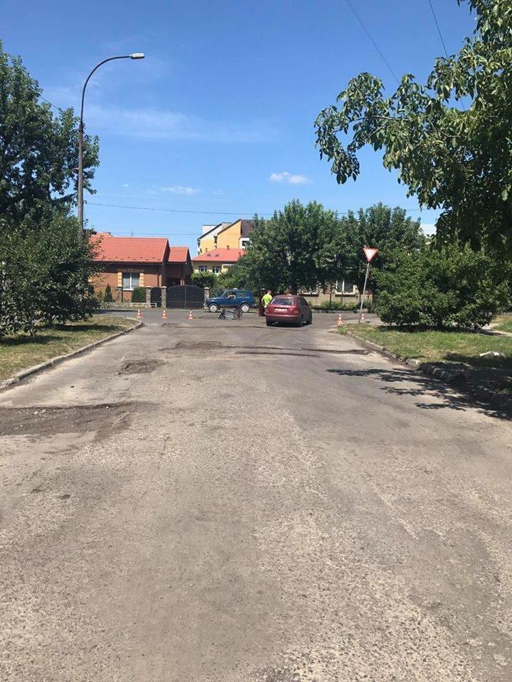 В Ужгороді розпочали капремонт Капушанської: фото, фото-1