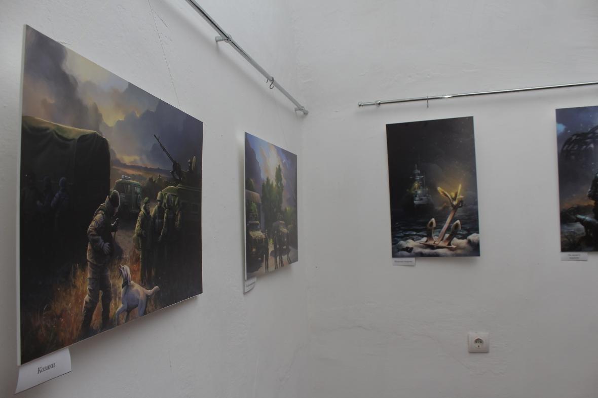 """Героїчні картини: у Мукачеві відкрили виставку """"Кордон"""" з історіями охоронців України, фото-1"""