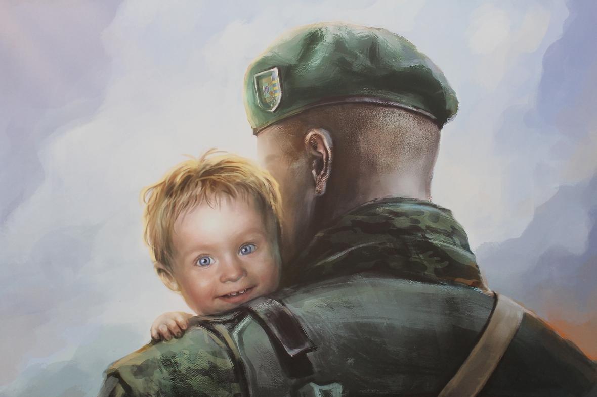 """Героїчні картини: у Мукачеві відкрили виставку """"Кордон"""" з історіями охоронців України, фото-15"""
