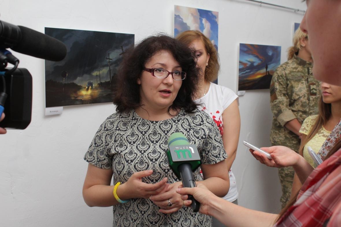 """Героїчні картини: у Мукачеві відкрили виставку """"Кордон"""" з історіями охоронців України, фото-19"""