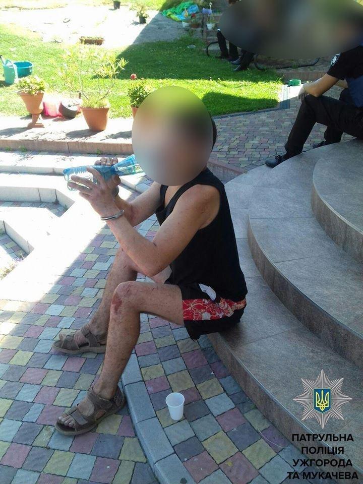 В Ужгороді п'яниця увірвався до будинку жінки у пошуках горілки: фото, фото-1