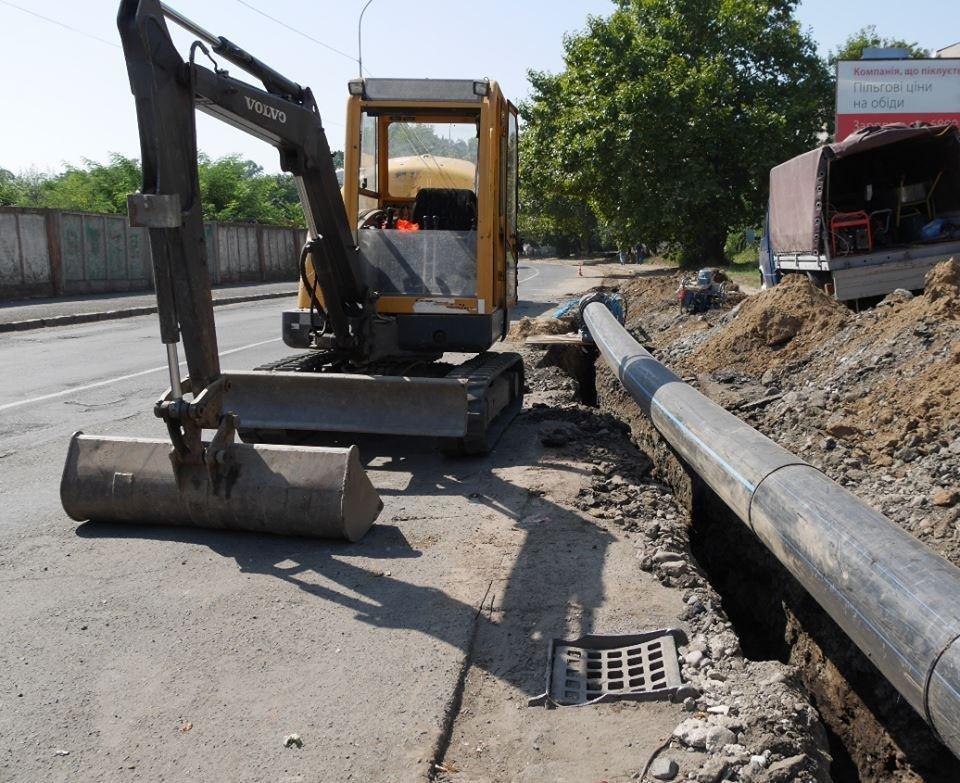 В Ужгороді ремонтують аварійний водогін за 4,3 мільйонів гривень: фото, фото-1