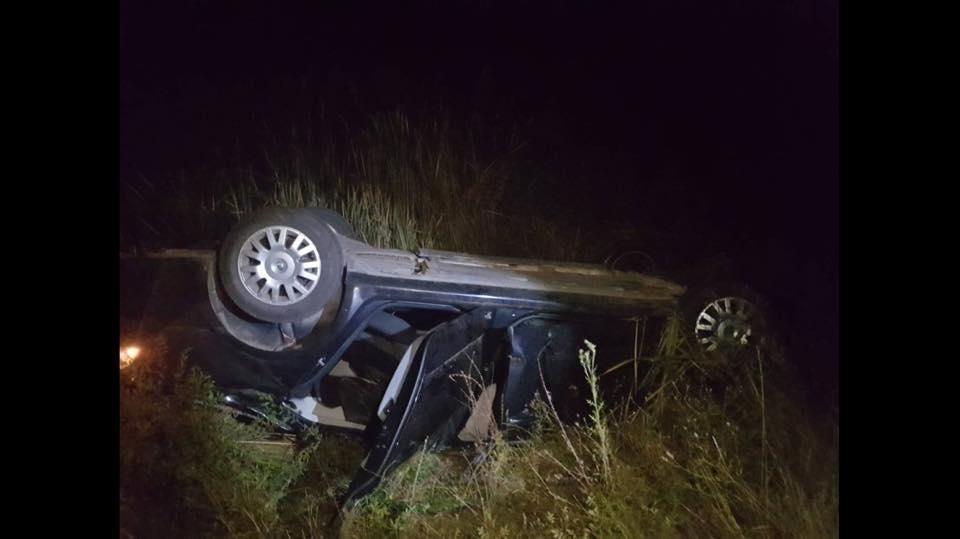 На Виноградівщині - смертельна ДТП: авто перекинулось декілька разів, водій з нього вилетів (ФОТО), фото-1
