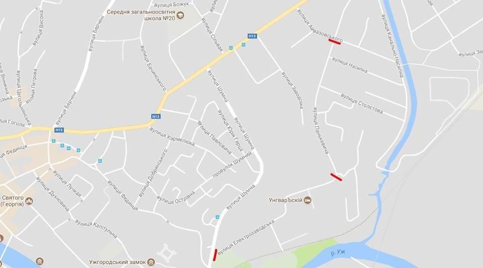 Завтра в Ужгороді перекриють Електрозаводську вулицю: схема руху, фото-1