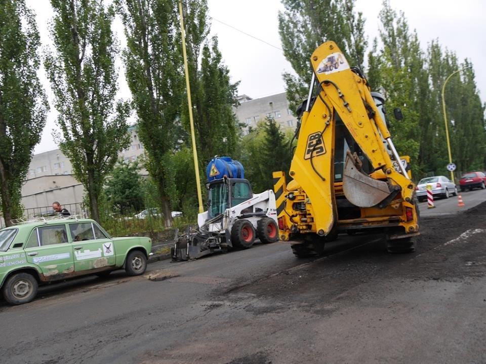Як в Ужгороді готували вулицю Грибоєдова до ремонту: фото, фото-1