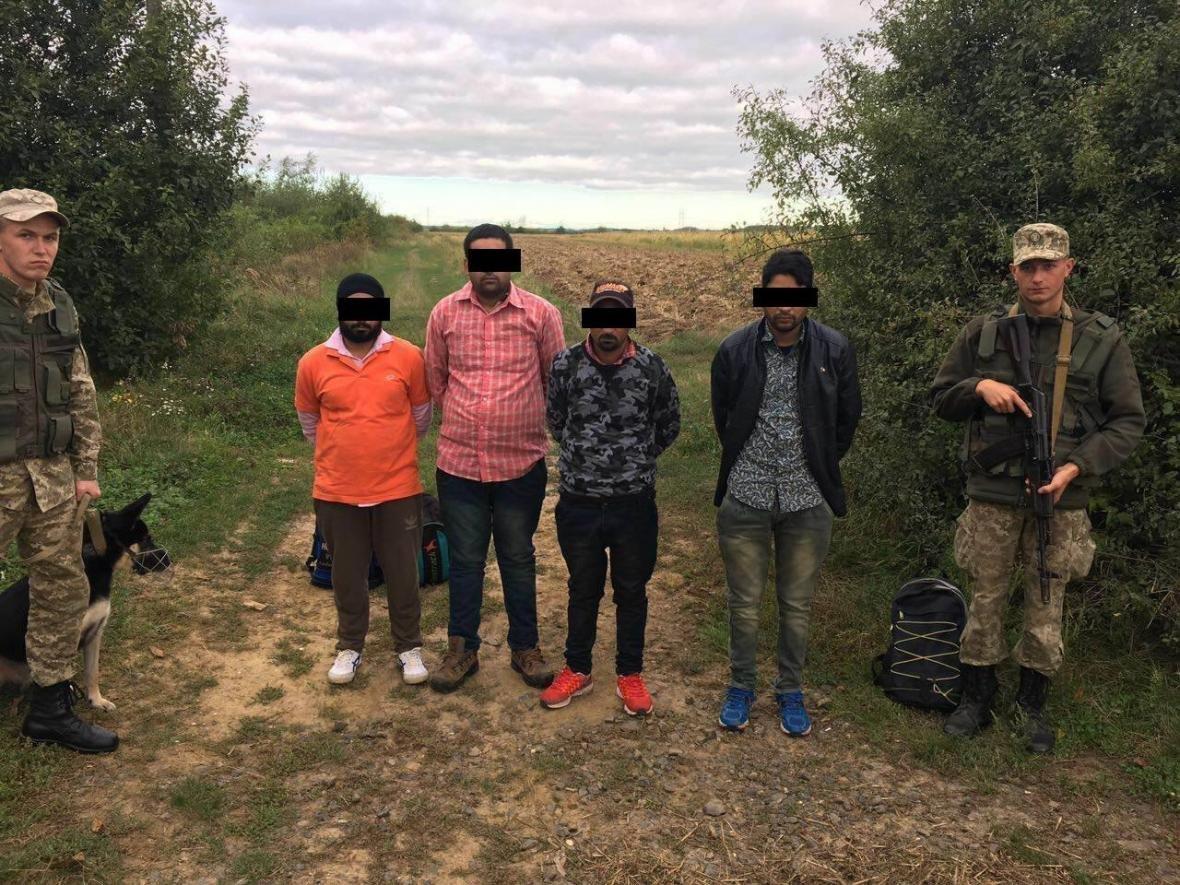 Поблизу кордону із ЄС на Закарпатті затримали 4 індусів-нелегалів: фото, фото-1