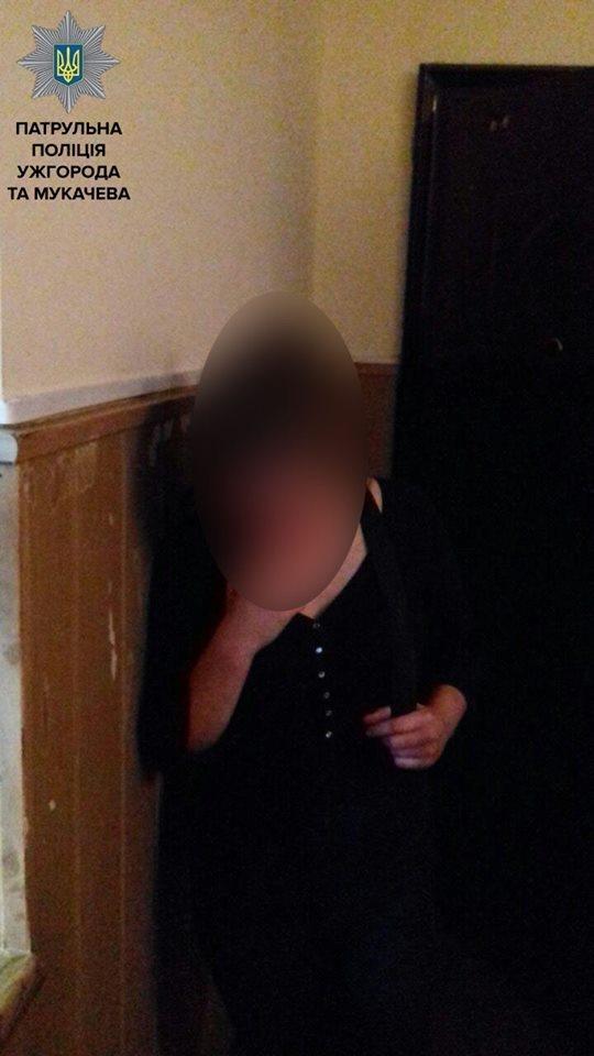 Патрульні знайшли 14-річну втікачку з Мукачева: дівчина була на заправці у Чинадієві, фото-2